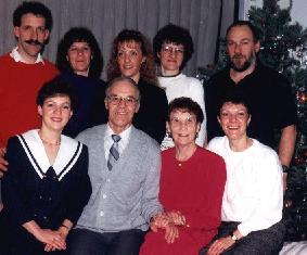 Photo de famille à Jocelyne ...